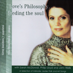 Gina Sanders: Love's Philosophy... feeding the soul