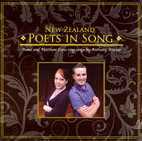 New Zealand Poets in Song | Anna and Matthew Leese sing songs by Anthony Ritchie - CD