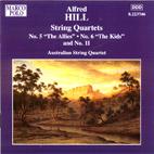 Alfred Hill: String Quartets No. 5, No. 6 and No. 11 - CD