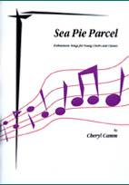 Cheryl Camm: Sea Pie Parcel - hardcopy SCORE and CD