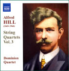 Alfred Hill: String Quartets Vol. 3 - CD