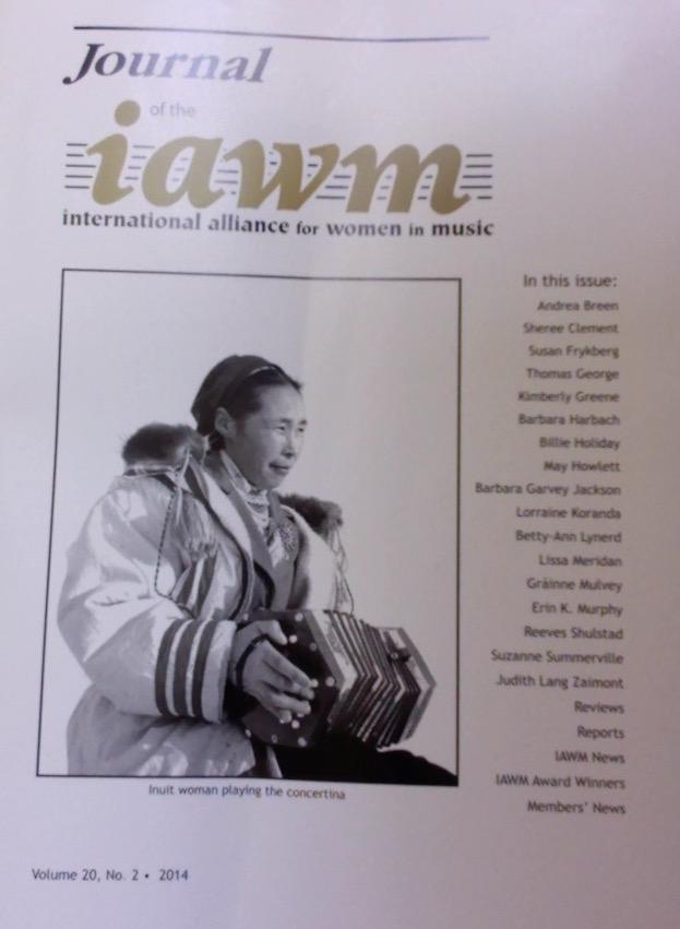 Journal of the International Alliance for Women in Music
