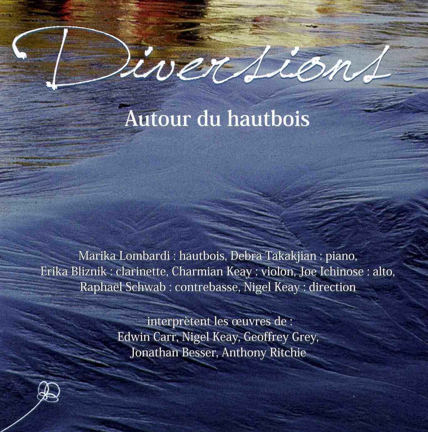 Diversions | Autour du hautbois - CD