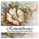Georgina Zellan-Smith - Remembrance, and other favourite piano pieces - CD