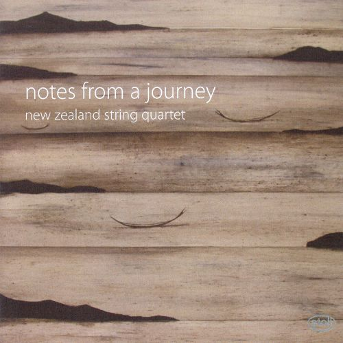 New Zealand String Quartet: notes from a journey - CD