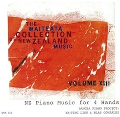 Waiteata Collection of New Zealand Music Vol. 13 - NZ Piano Music for 4 Hands