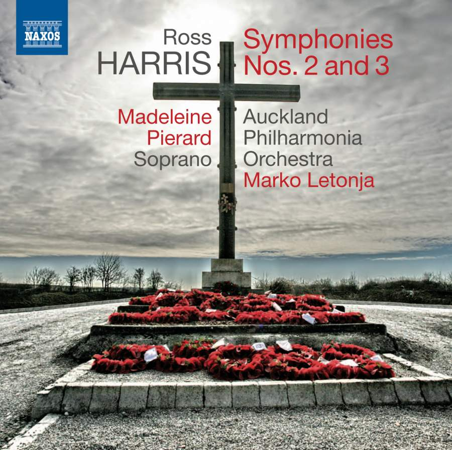 Ross Harris: Symphonies Nos. 2 and 3 - CD