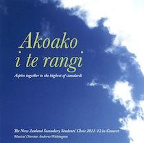 NZSSC: Akoako i te rangi  CD