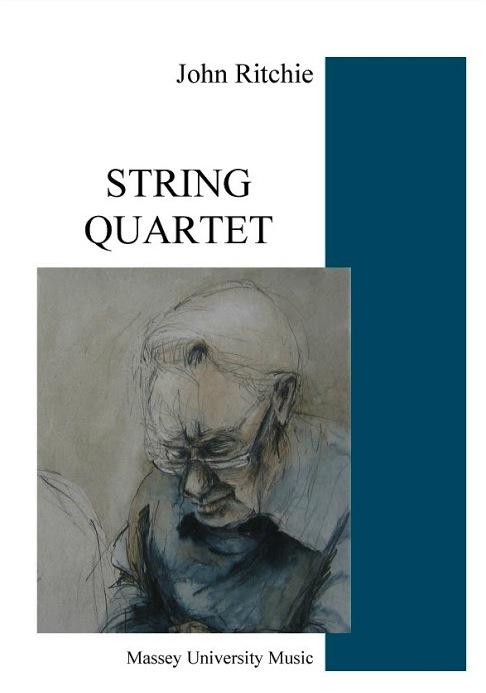 John Ritchie: String Quartet - hardcopy SCORE and PARTS