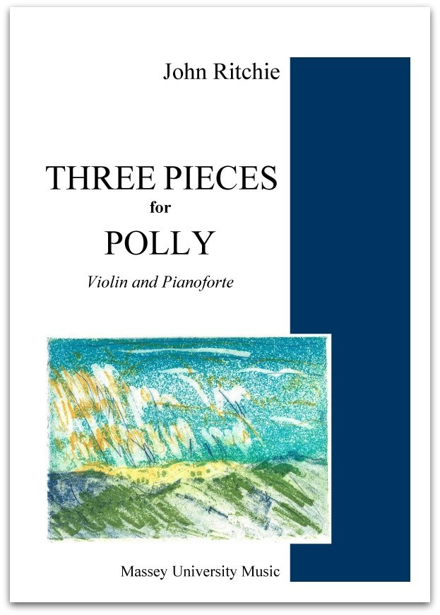 John Ritchie: Three Pieces for Polly - hardcopy SCORE and PART