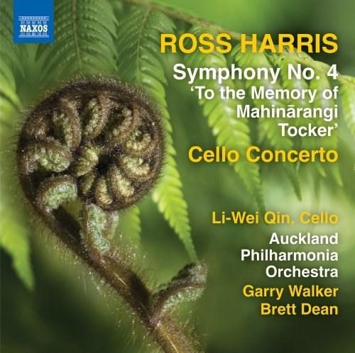 Ross Harris: Symphony No. 4 ' To The Memory of Mahinārangi Tocker' - CD