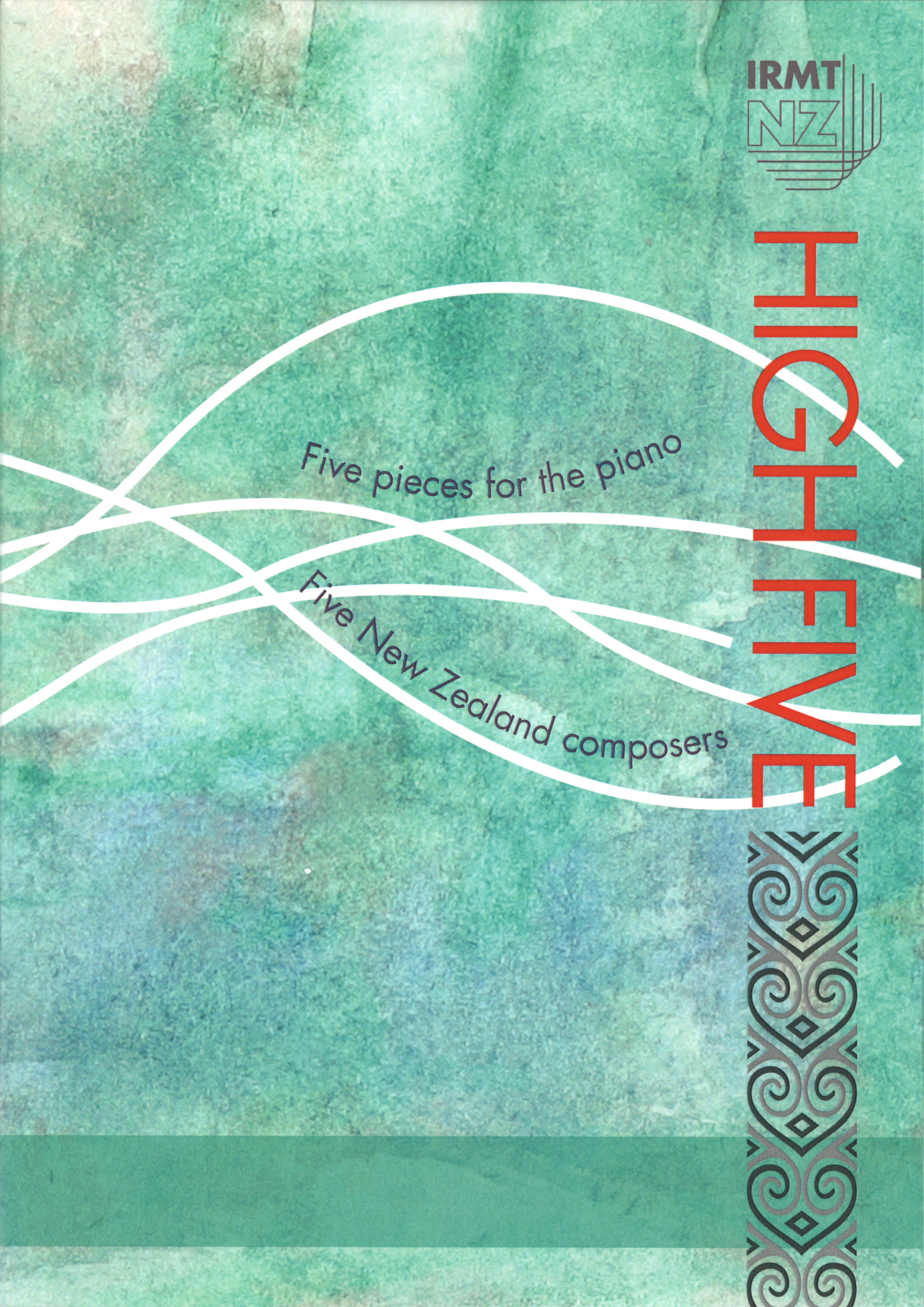 High Five: Five Pieces for the Piano - hardcopy SCORE