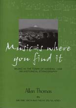 Music is Where You Find It - Music in the town of Hawera, 1946, An historical ethnography