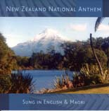 New Zealand National Anthem Sung in English and Maori - CD
