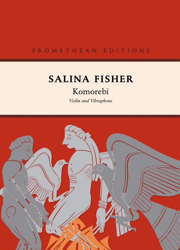 Salina Fisher: Komorebi - hardcopy SCORE and PARTS