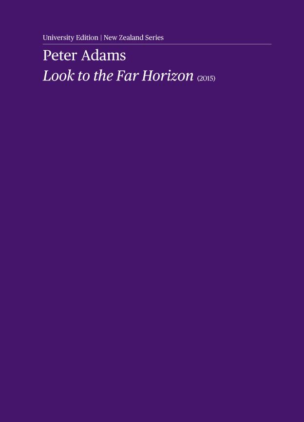 Peter Adams: Look to the Far Horizon - hardcopy PARTS