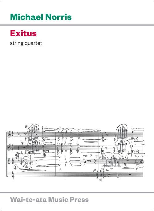 Michael Norris: Exitus - hardcopy SCORE