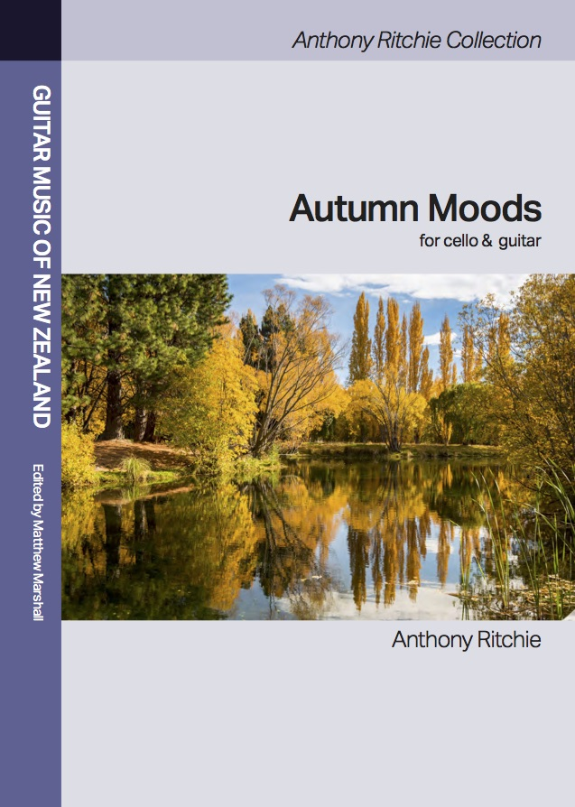 Anthony Ritchie: Autumn Moods (edited by Matthew Marshall and Heleen du Plessis) - hardcopy SCORE and PARTS