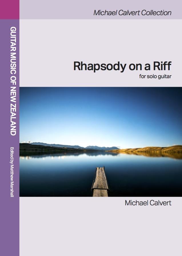 Michael Calvert: Rhapsody on a Riff - hardcopy SCORE