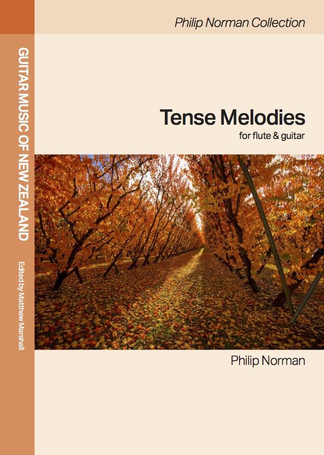 Philip Norman: Tense Melodies (edited by Matthew Marshall) - hardcopy SCORE