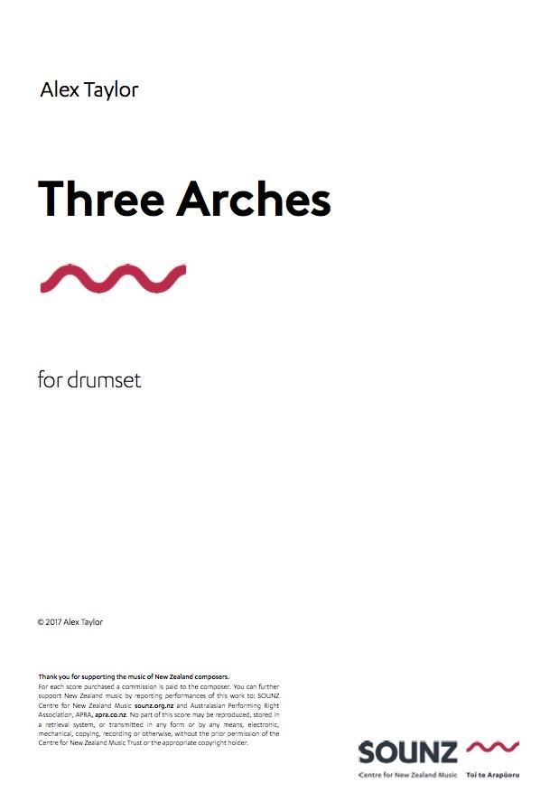 Alex Taylor: Three Arches - hardcopy SCORE