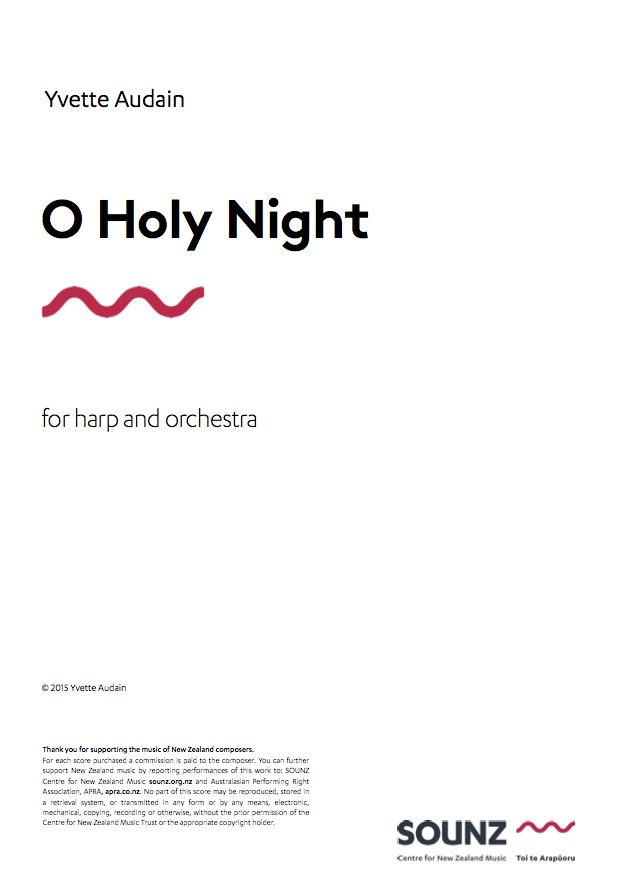 Yvette Audain (arr.): O Holy Night - downloadable PDF SCORE