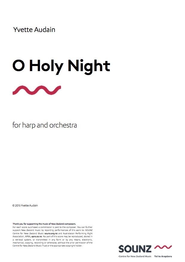 Yvette Audain (arr.): O Holy Night - hardcopy SCORE