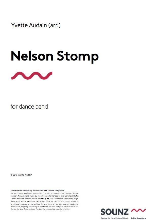 Yvette Audain (arr.): Nelson Stomp - downloadable PDF SCORE