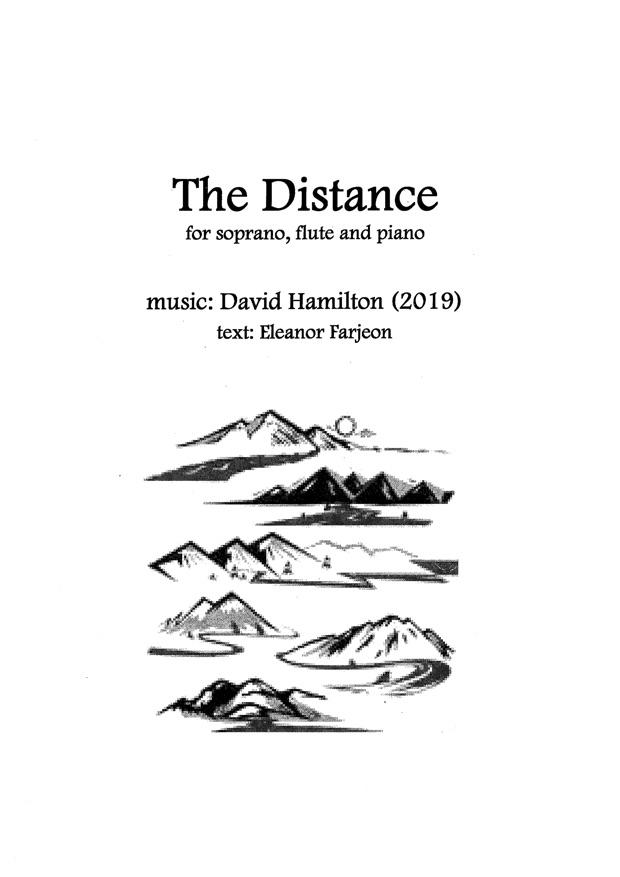 David Hamilton: The Distance - hardcopy SCORE and PART