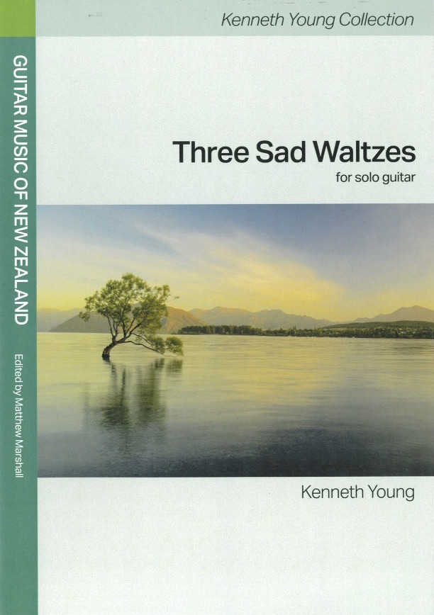 Kenneth Young: Three Sad Waltzes (edited by Matthew Marshall) - hardcopy SCORE