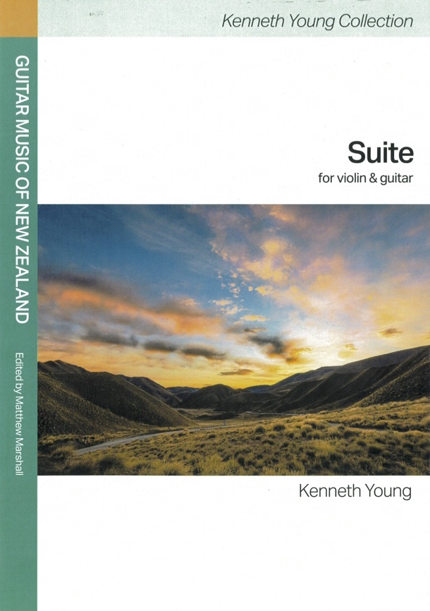 Kenneth Young: Suite (edited by Matthew Marshall) - hardcopy SCORE