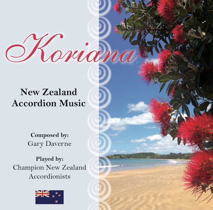 Gary Daverne: Koriana - New Zealand Accordion Music