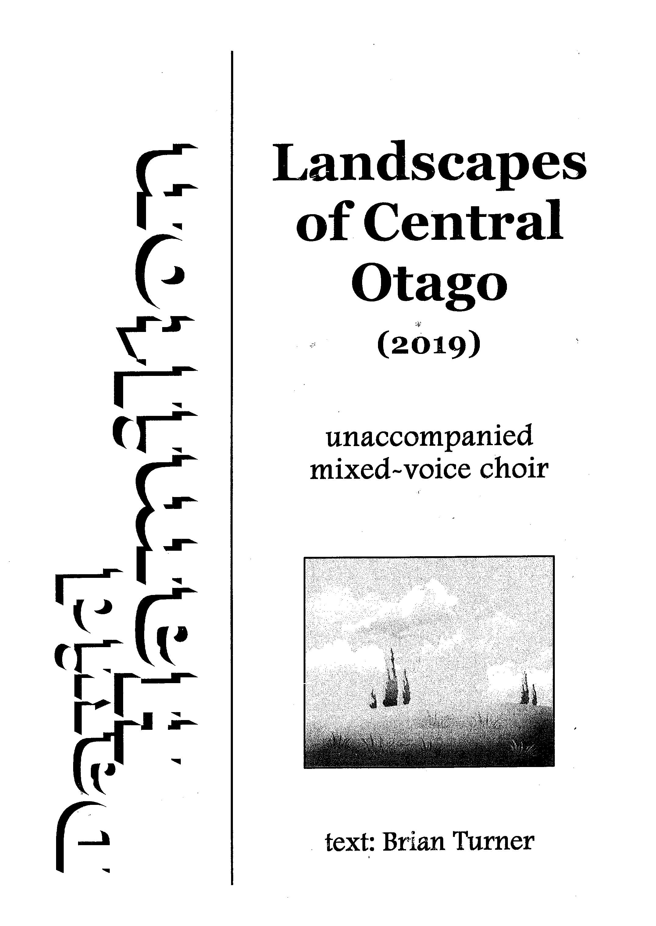 David Hamilton: Landscapes of Central Otago - hardcopy SCORE