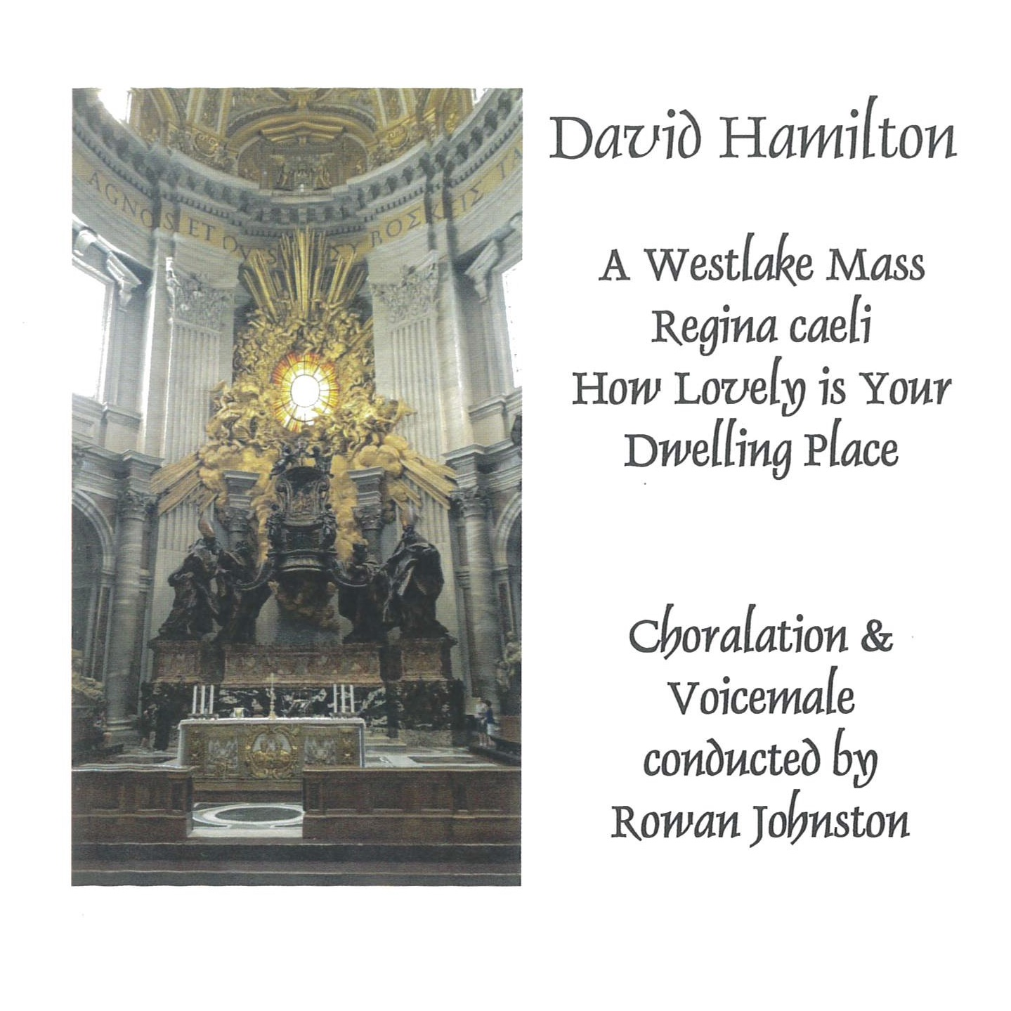 David Hamilton: A Westlake Mass - CD