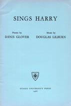 Douglas Lilburn: Sings Harry - hardcopy HANDWRITTEN SCORE