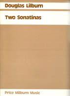 Douglas Lilburn: Two Sonatinas (Price Milburn Music) - hardcopy SCORE