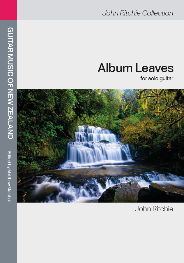 John Ritchie: Album Leaves (edited by Matthew Marshall) - hardcopy SCORE