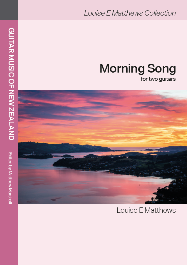 Louise E Matthews: Morning Song (edited by Matthew Marshall) - hardcopy SCORE