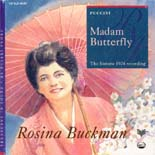 Rosina Buckman: Madam Butterfly