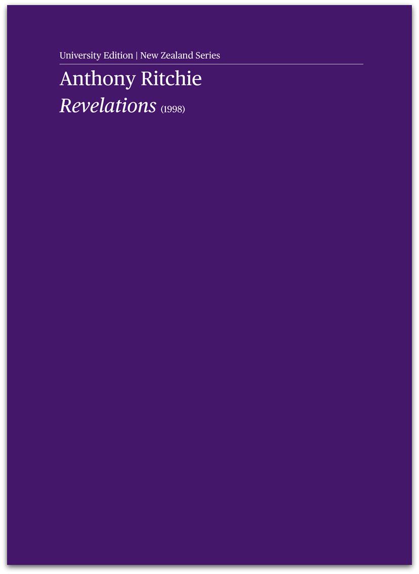Anthony Ritchie: Revelations - hardcopy SCORE