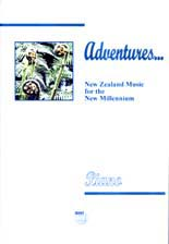 Adventures - NZ music for the new millennium (piano) - hardcopy SCORE