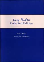 Larry Pruden: Collected Edition Volume 1 - works for solo piano