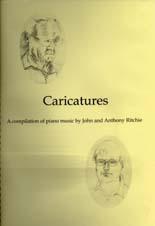 John and Anthony Ritchie: Caricatures - hardcopy SCORE