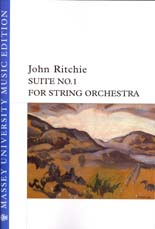 John Ritchie: Suite No. 1 for String Orchestra - hardcopy SCORE