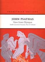 John Psathas: View from Olympus - hardcopy SCORE