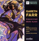 Warriors From Pluto | Music by Gareth Farr - CD