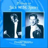 Tribute to Jack W.M. Speirs - CD