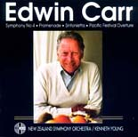 Edwin Carr: Orchestral Works and Symphony No. 4