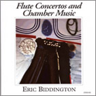 Eric Biddington: Flute Concertos and Chamber Music