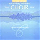 1993/94 New Zealand Secondary Students' Choir - CD